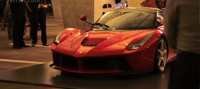 LaFerrari at Art Basel in Miami - Fanaticar
