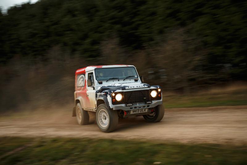 Land Rover Bowler Challenger - Fanaticar Magazin