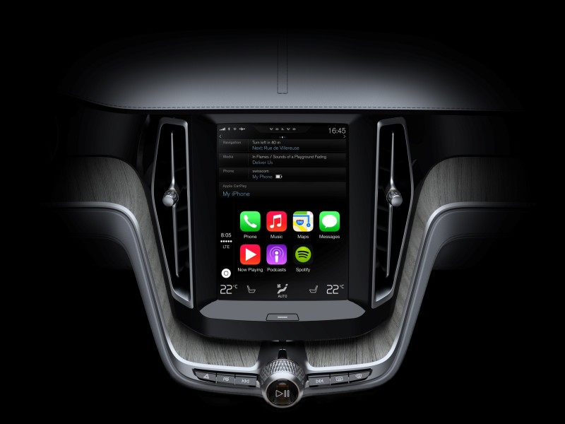 Volvo Apple CarPlay - Fanaticar Magazin