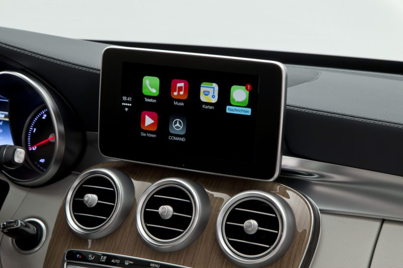 "Mercedes-Benz - Apple ""CarPlay"" - Fanaticar Magazin"