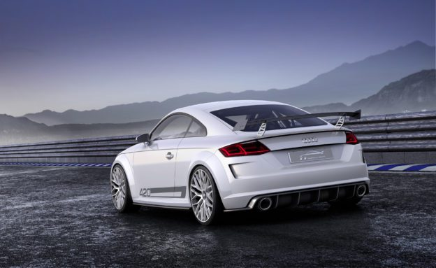 Audi TT quattro sport concept - Fanaticar Magazin
