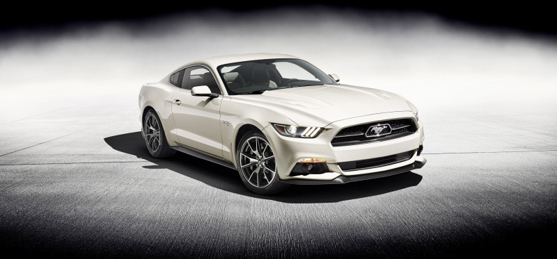 2015 Ford Mustang 50 Year Limited Edition - Fanaticar Magazin