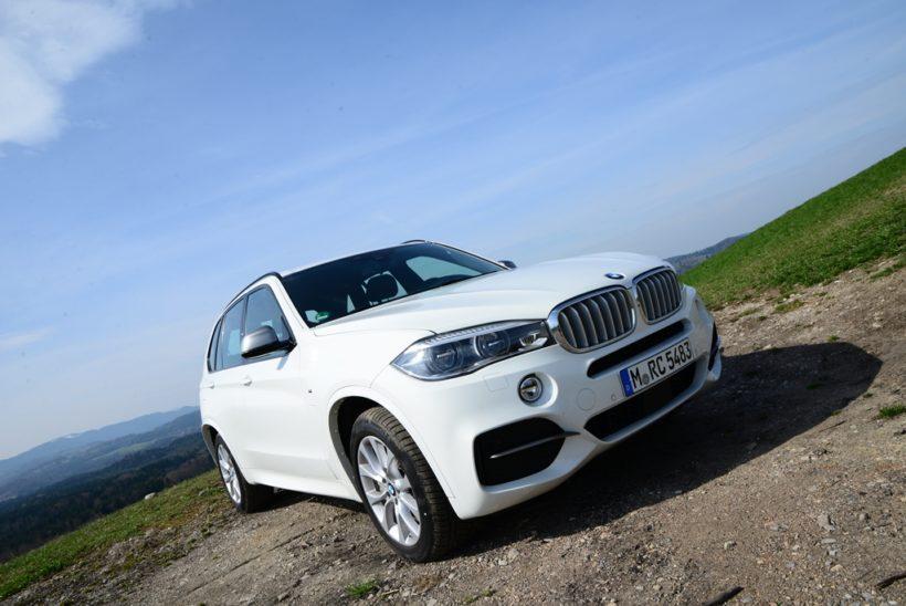BMW X5 5.0d M - Fanaticar Magazin