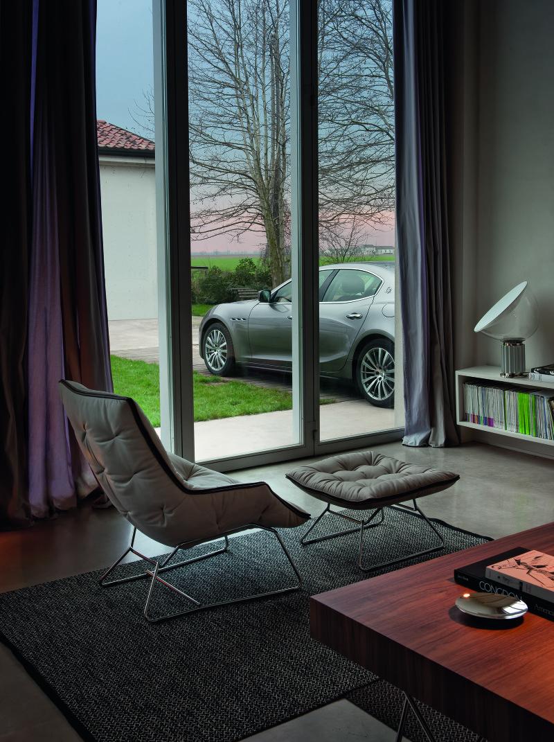 Die Maserati by Zanotta Capsule Collection ist im ausgewählten Fachhandel erhältlich