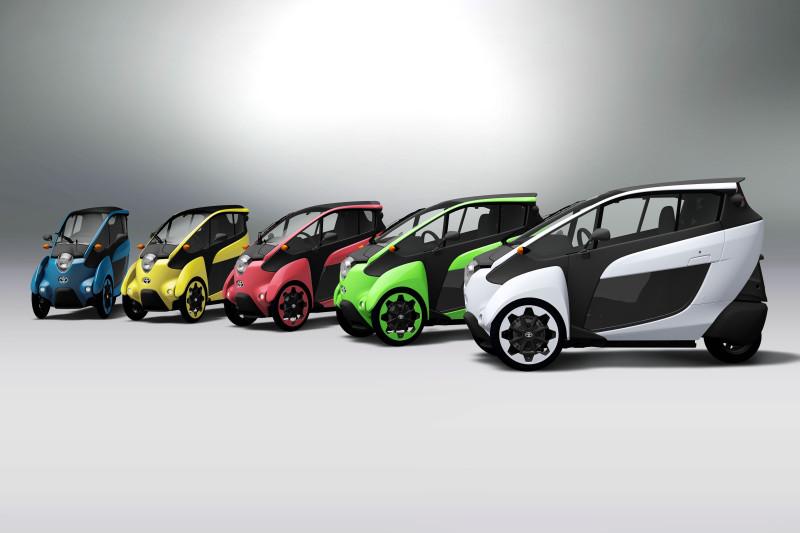 Im Rahmen des neuen i-Road-Testprojekts stellt Toyota in Tokio zehn Fahrzeuge zur Verfügung