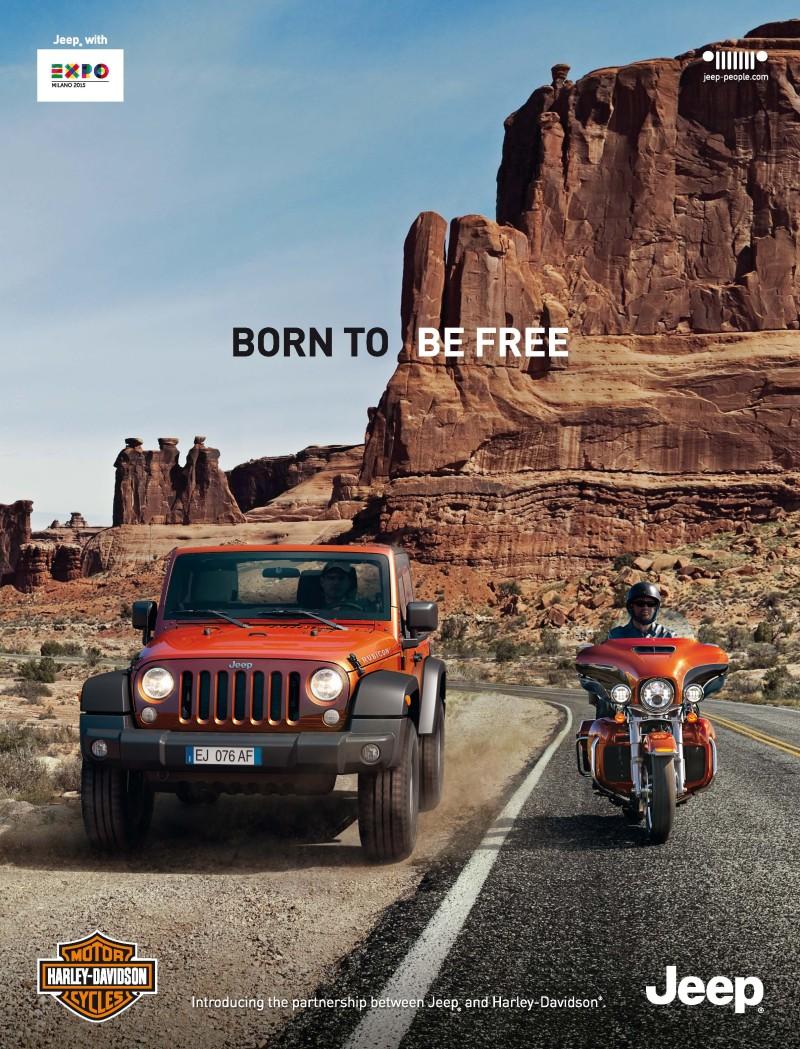 Jeep® ist Partner der Marke Harley-Davidson®