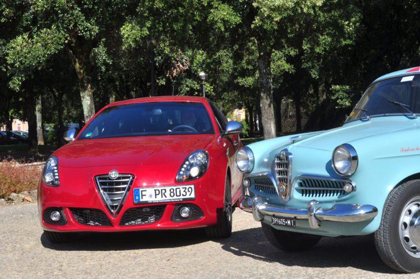 Alfa Romeo Giulietta auf der Mille Miglia 2014 - Fanaticar Magazin