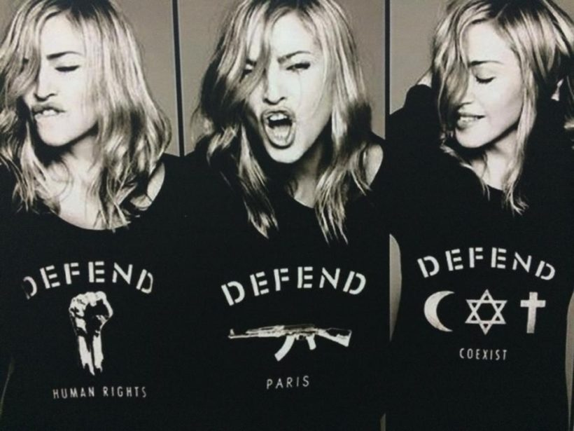 Madonna Defend Paris - Fanaticar Magazin