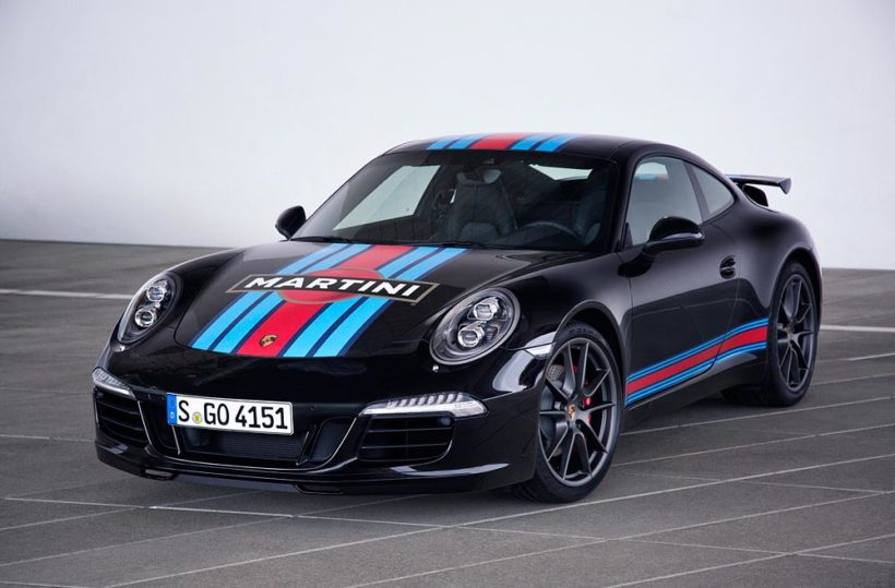 "Porsche 911 S Martini Racing Edition"" - Fanaticar Magazin"