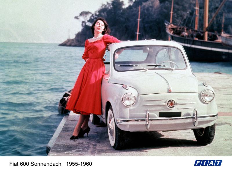 Der Fiat 600 Sonnendach (1955-1960)