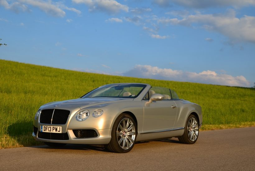 Bentley Continental GTC V8 - Fanaticar Magazin