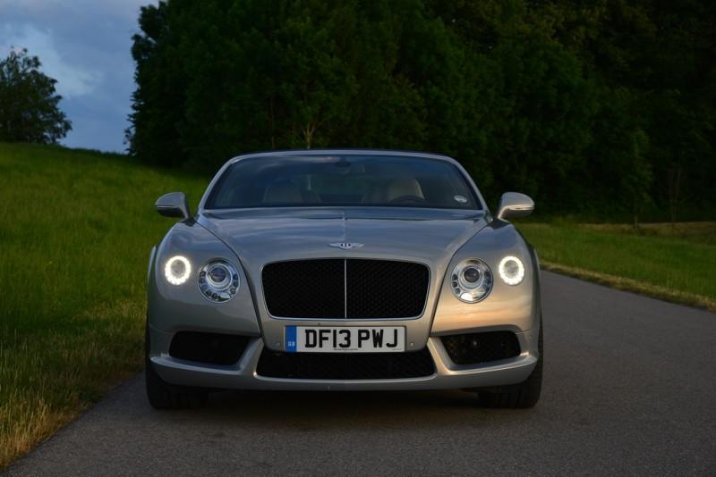 Bentley Continental GTC V8 - Fanaticar Magazin