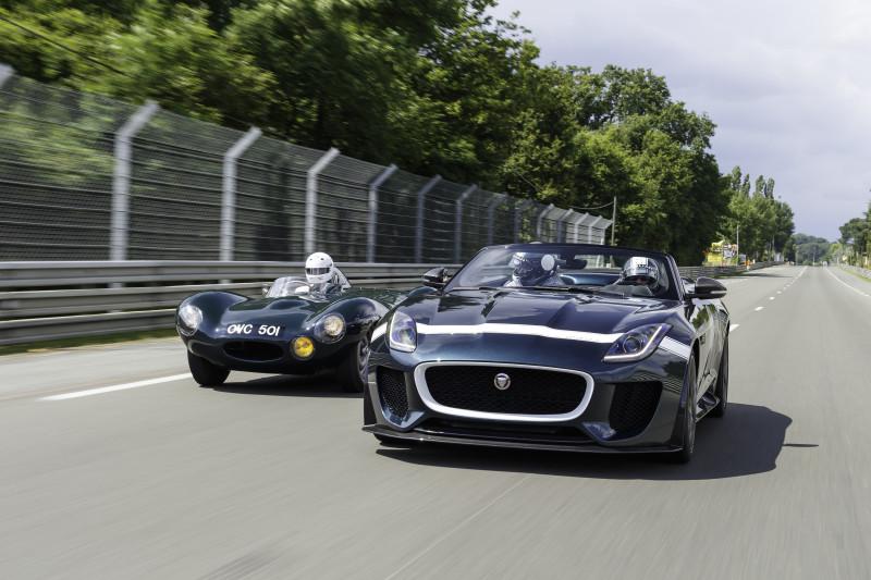 Jaguar beim OGP am Nürburgring - 60 Jahre D-TYPE und Deutschland-Debüt des F-TYPE Project 7