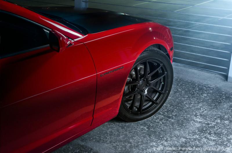 2013 Chevrolet Camaro & Velgen Wheels - Fanaticar Magazin