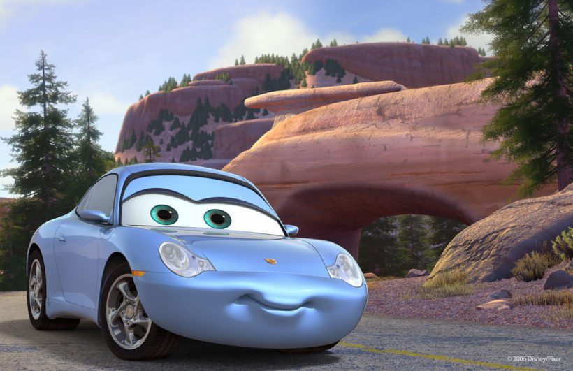 Porsche 911 Sally by Disney's Cars - Fanaticar Magazin