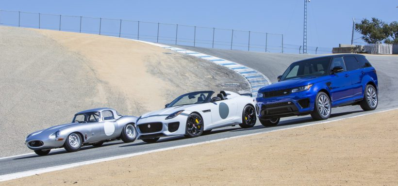 Jaguar bei Concours in Pebble Beach - Fanaticar Magazin