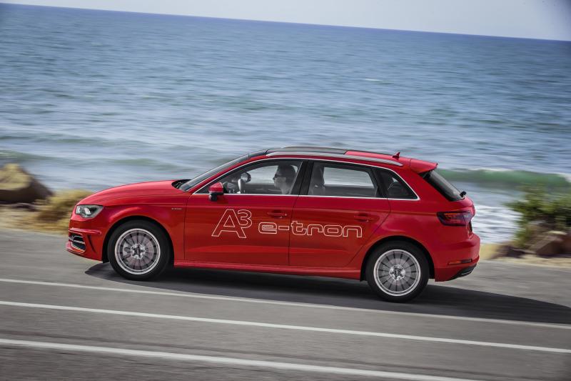 Hamburger können vom 18. bis 28. September den Audi A3 Sportback e-tron* gratis Probe fahren und Elektromobilität live erleb en