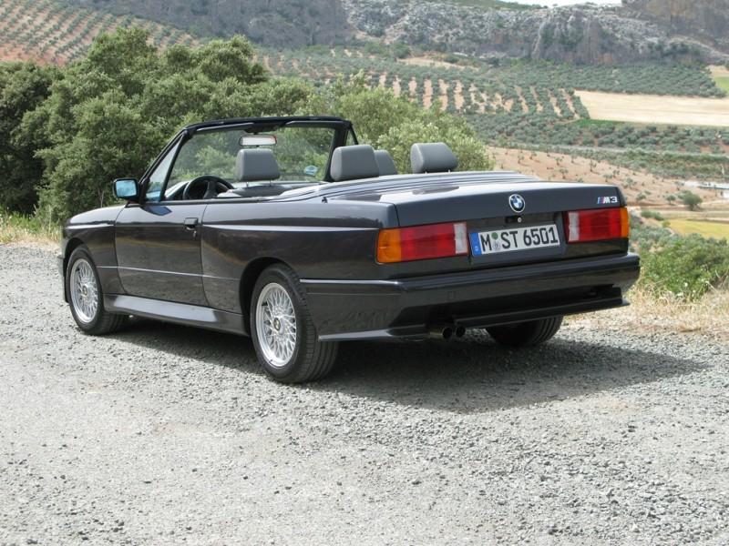 M3 E30 Cabrio rück