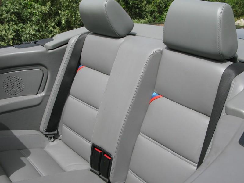 M3 E30 Rücksitz