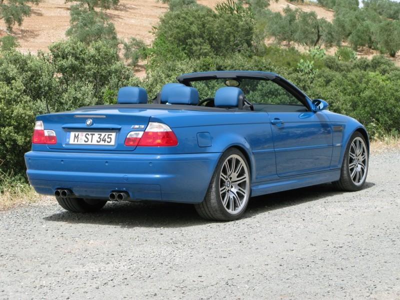 M3 E46 rück
