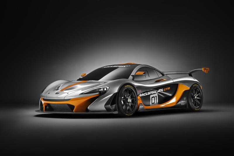 McLaren P1™ GTR design concept