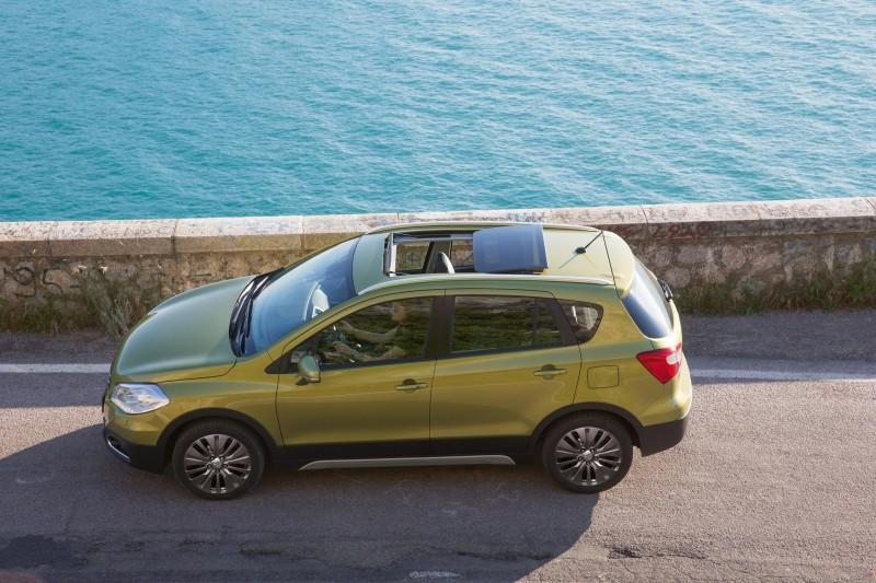 Das markante Crossover-Design des neuen Suzuki SX4 S-Cross strahlt perfekt die konzeptionellen Vorzüge des Allrounders aus.