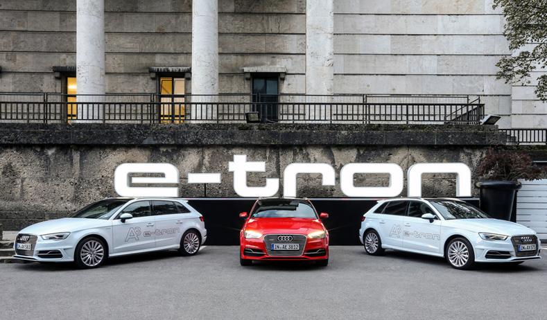Probefahrten an der Elbe – zwischen Beachclub und F ischmarkt mit dem Audi etron3