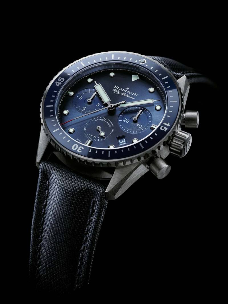 Blancpain Bathyscaphe Flybackchronograph Ocean Commitment - Fanaticar Magazin