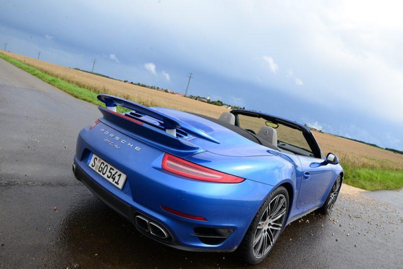 2014 Porsche 911 Turbo Cabriolet (991) - Fanaticar Magazin