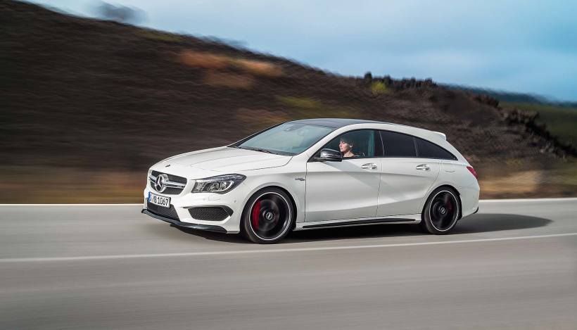 2015 Mercedes-AMG CLA 45 Shooting Brake - Fanaticar Magazin