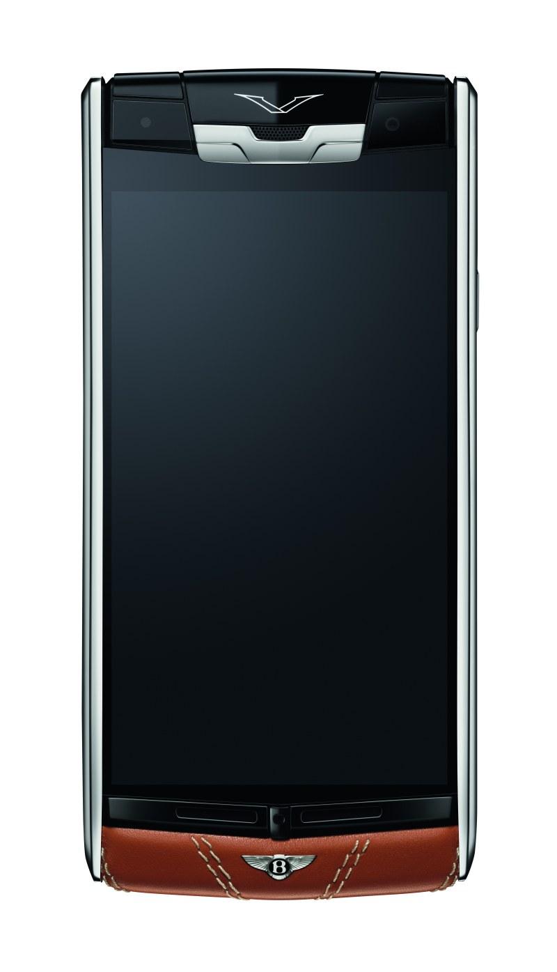 Erstes Vertu for Bentley Smartphone als Gemeinschaftsprojekt von Bentley und Vertu