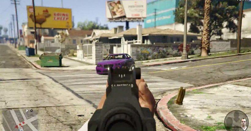 2014 GTA V für Xbox One und PS 4 First Person - Fanaticar Magazin