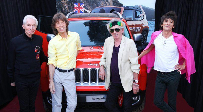 Rolling Stones - Jeep Renegade - Fanaticar Magazin