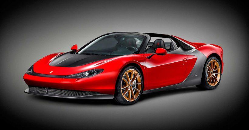 Ferrari Sergio Laterale - Fanaticar Magazin