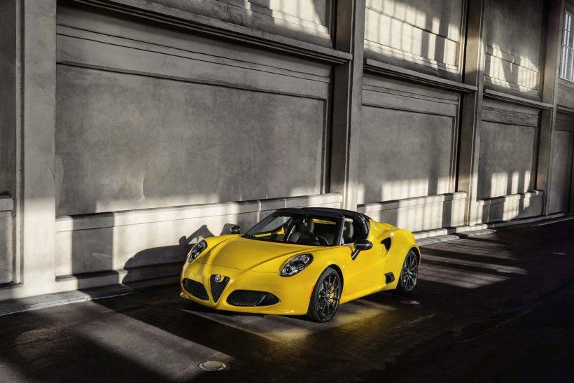 150112 AR 4CSpider 05-820x547 in Alfa Romeo 4C Spider - oben ohne im eisigen Detroit