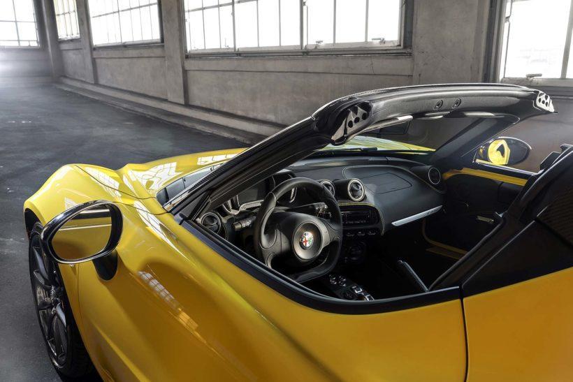 150112 AR 4CSpider 13-820x547 in Alfa Romeo 4C Spider - oben ohne im eisigen Detroit