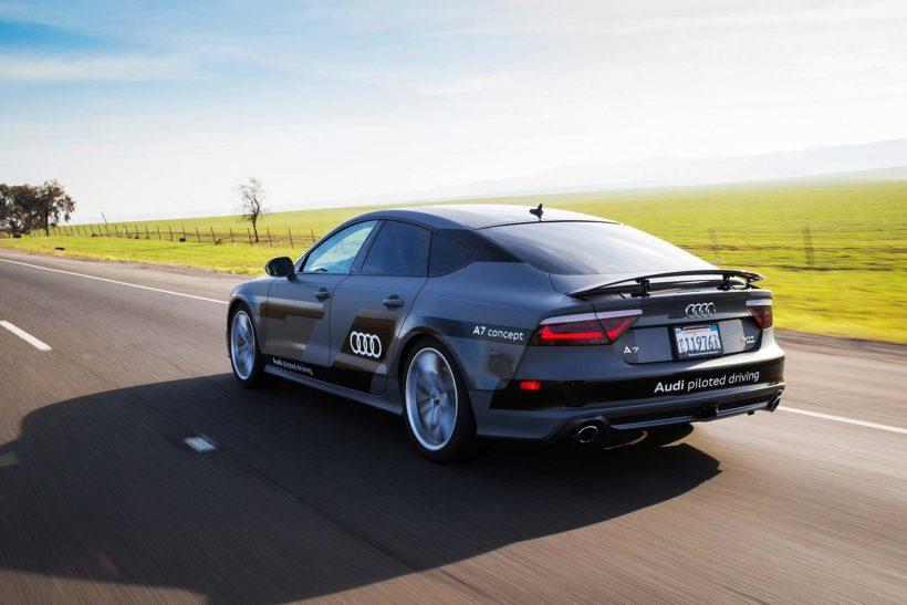 Audi A7 piloted driving concept - Fanaticar Magazin