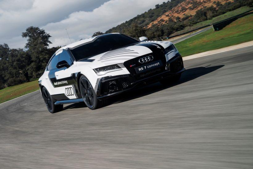 Audi RS7 piloted drive concept - Fanaticar Magazin