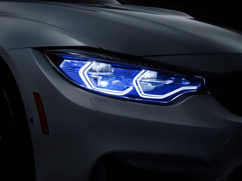 Bringen Licht ins Dunkel: Die BMW M4 Concept Iconic Lights
