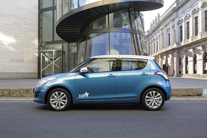 """Suzuki Swift Sonderedition 04-820x547 in Suzuki präsentiert neues Swift Sondermodell """"X-TRA"""""""
