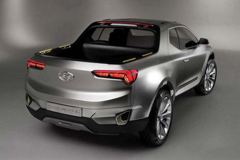 2015 Studie Hyundai Santa Cruz Pick-Up - Fanaticar Magazin