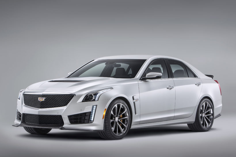 2016-Cadillac-CTS-V-Sedan-014-820x547 in Cadillac enthüllt V-Serie in Genf