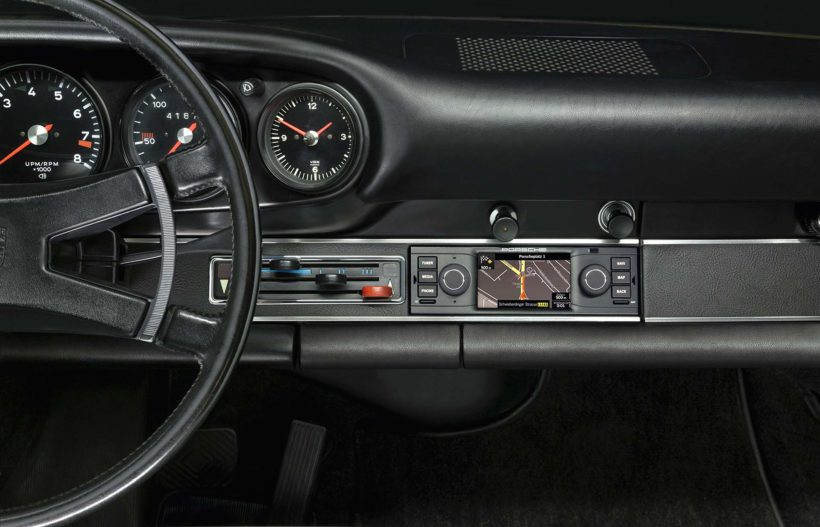 Porsche Klassik Navigationsradio - Fanaticar Magazin