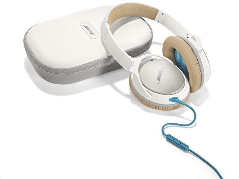 Die neue Optik der QuietComfort® 25 headphones liegt ganz auf der Linie der Marke Bose