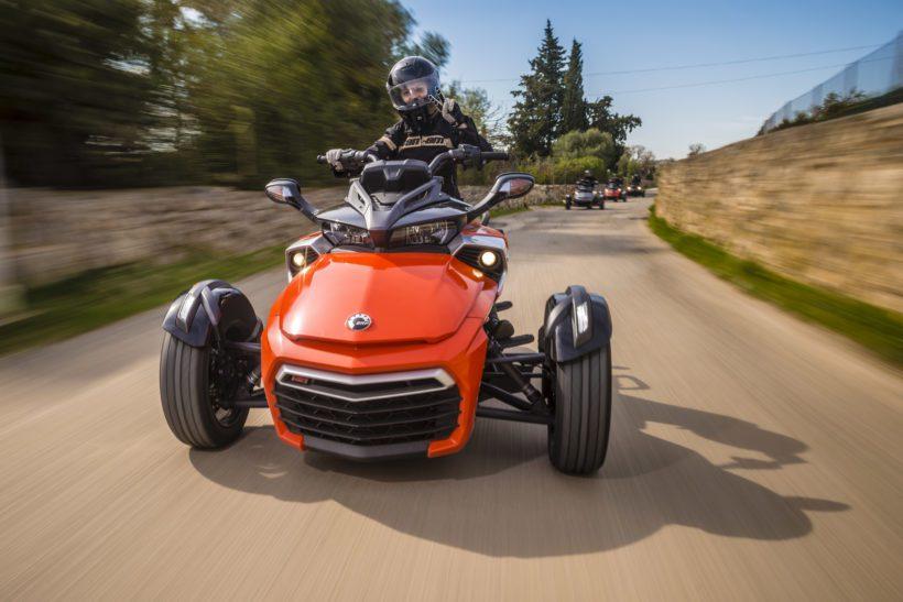 Auf Tour mit dem Can-Am Spyder F3