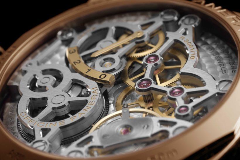 Präzision: Das mechanische Uhrwerk mit Handaufzug,