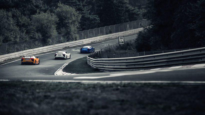Mit geballter Power im Renneinsatz auf dem Nürburgring
