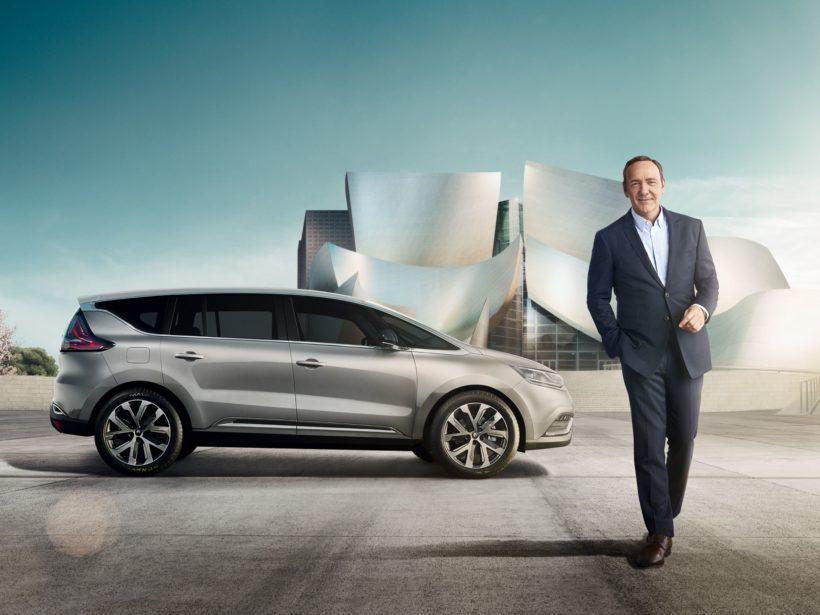 Renaults 360°- Werbekampagne mit Kevin Spacey