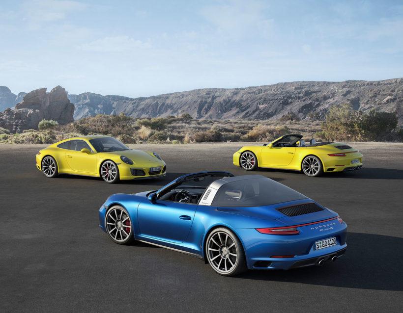 2016 Porsche 911 4 Modelle | Fanaticar Magazin