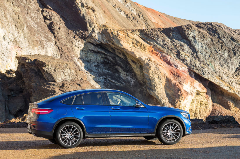 2016 Mercedes-Benz GLC Coupé | Fanaticar Magazin